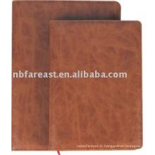 2015 Nouveau design Hot Sales PU Cover notebook