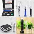 Vaporizador seco de la hierba G9 Enroll Pipe de cristal que fuma inteligente 18650 Batería de Imr 2500mAh Embalaje por el caso Calidad Vape Ecig Mod de la máquina