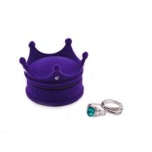 high quality packaging box for men shirt velvet engagement ring box