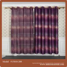 2015 diseño más nuevo de la cortina para la tela de la tapicería hecha en China