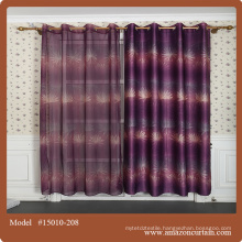 2015 newest curtain design for upholstery fabric made in China