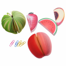 Fresh I Like Fruit Self-Adhesive Memo Pad  Bookmark School Office Supply Sticky Notes