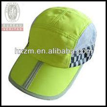 Green Fold Brim Mesh Cap