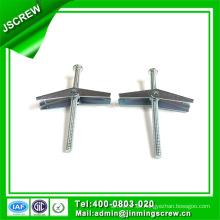Perno de palanca de cabeza de pan de acero M8 chapado en zinc