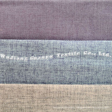 Oxford Linen Polyester Fabric with T/C Backside