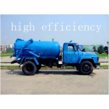 Dongfeng 140 aspiration des eaux usées camion