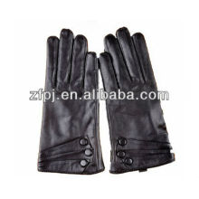Fashion Ladies Brand gloves, Genuine sheepskin leather gloves