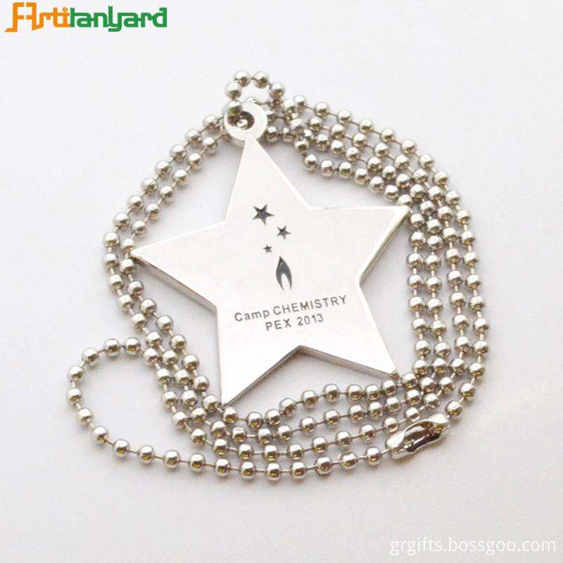 Men S Dog Tag Necklace