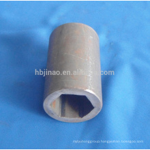 seamless hexagonal hollow pipes