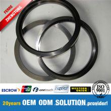 Bonne résistance à la corrosion de l'anneau en alliage dur