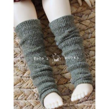 Носки BJD Green / khaki / Orange Stockings для шарнирной куклы YOSD