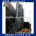 Caldera industrial filtro de humo filtro de recogida de polvo