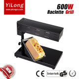600w electric raclette grill