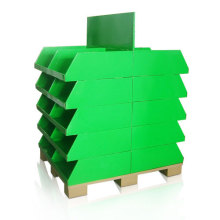 Supermarket Cardboard Pallet Display for Retail, Pallet Display Stand