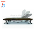 Sofá plegable de la tela multiusos de los muebles de la tela barata de la moda