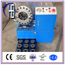 Ce Approved Finn Power ISO Hydraulic 1/4′′~2′′hose Crimping Machine From China!
