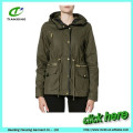 New military parka for young lady