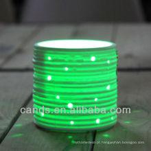 Luz conduzida colorida da bateria de 2015 produtos novos