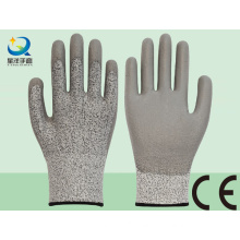 Cut Resistance PU Coated Safety Glove Level 3