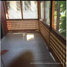 Питания 5 лет гарантии ПНД загородки балкона занавес чистой
