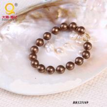 2014 concha perla cristal pulsera (BR125169)