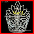 High quality flower cinderella crowns jewelry pageant crowns wholesale hair accessories