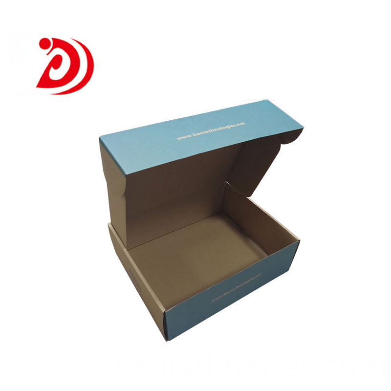 Custom size shipping boxes