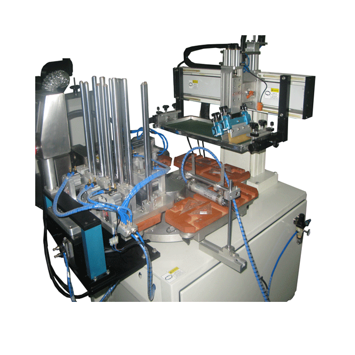 Triangle automatical Plain screen printing machine
