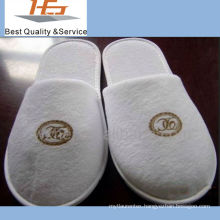 high quality superior soft disposable terry hotel slipper
