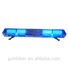 Blue Rotating Warning Lightbar with speaker