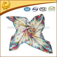 Cachecol de seda indiano Atacado China Factory 100% seda Digital impressa Pashmina envoltório xale, personalizado feito xales para senhoras
