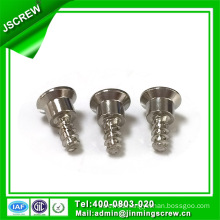 Nickle Plated Flat End Steel Self Tapping Screw