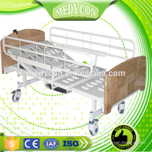 Adjustable electric nursing bed with two functions