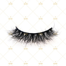 10D Eyelashes Super Fluffy Wispy Mink Lashes Drop Shipping Small Eyelash Business Own Logo Box