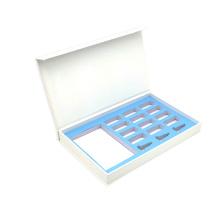 Cajas de brillo de labios que empaquetan una caja de regalo con logotipo personalizado