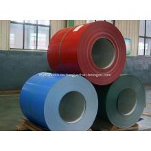 Bobinas de aluminio recubiertas de color PVDF o PE