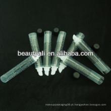 Tubo do bálsamo do bordo tubo plástico macio do cosmético para lipgloss