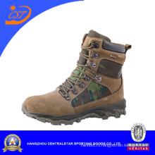 Камуфляж кожа военные ботинки для мужчин