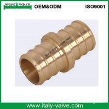 Acoplamiento de cobre amarillo sin plomo de Pex (PEX-004)
