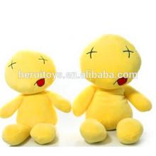 Brinquedo de pelúcia super lindo suave emoji