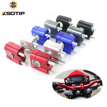 "1 Pair Universal 7/8"" 22mm 28mm CNC Aluminum Handlebar Riser Motorcycle Riser Handlebar Handle Bar Clamps Riser"