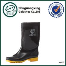 Botas de trabajo botas para hombres hombres claras botas de lluvia de PVC A-905
