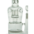 Pipa de agua de cristal de narguile de disco de panal grande para fumar (ES-GB-431)