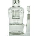 Tubo de água de vidro de cachimbo de disco grande de favo de mel para fumar (ES-GB-431)