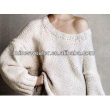 Ladies' sexy fashion knitwear sweater