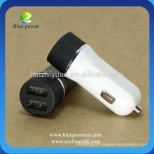Hot sale 4.8A / 2.4A Chargeur voiture 2 ports Chargeur double usb usb pour téléphone mobile