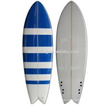 tabla de surf de los pescados / tabla de surf de la espuma de la PU