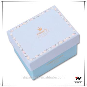 Boîtes en carton décoratives personnalisées de cadeau de chocolat de 2016 pour l'emballage