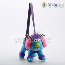 ICTI auditado melhor qualidade brinquedos macios plush pyjama bag