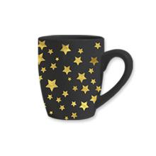 블랙 세련 된 커피 컵